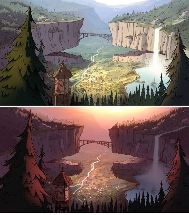 Gravity Falls (Disney) by  Trevor Simonsen, Joe Pitt, Elle Michalka and Ian Worrel