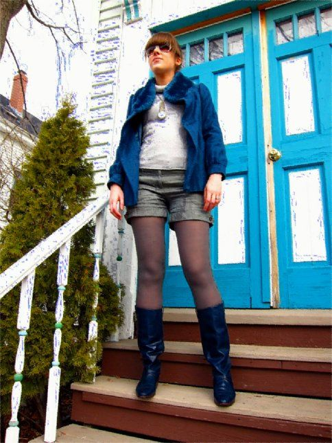 A rainbow spectrum of boots, indigo. While I've read that indigo is not really a…