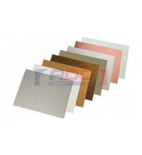 Plaque aluminium 0.5 mm - ADC Concept