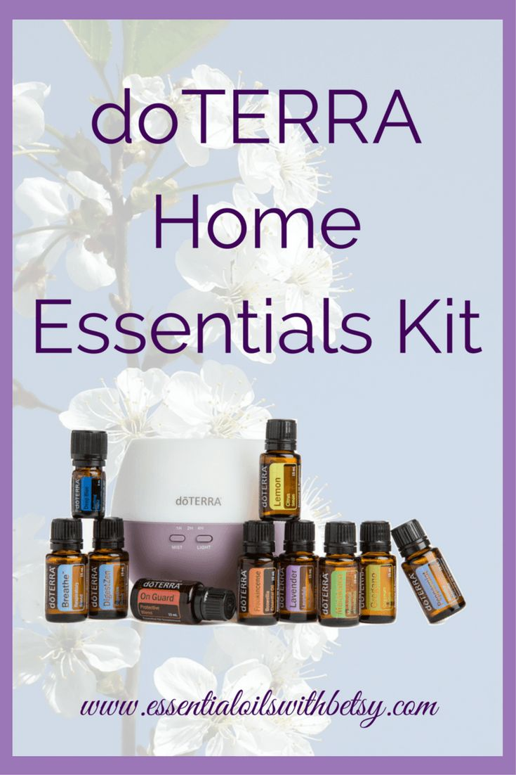 doTERRA Home Essentials Kit doTERRA Home Essentials Kit is a favorite kit option right now. It has a Petal Diffuser! Plus 10 of our most popular essential oils. What's not to love? Start your essential oil journey today! Who should enroll with a doTERRA Home Essentials Kit?