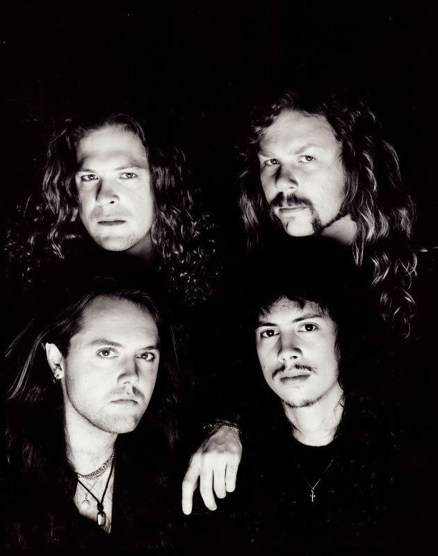 """METALLICA 1991 JASON NEWSTED JAMES HETFIELD LARS ULRICH KIRK HAMMETT - BLACK ALBUM YEARS  """"The World's No:1 Online Heavy Metal T-Shirt Store"""". Check it out our Metalhead Clothing and Apparel Store, Satanic Fashion and Black Metal T-Shirt Stores; www.HeavyMetalTshirts.net"""