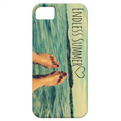 Endless Summer Toes i-Phone Case iPhone 5 Covers | Visit the Zazzle Site for More: http://www.zazzle.com/?rf=238228028496470081