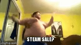 When ever there is a steam sale
