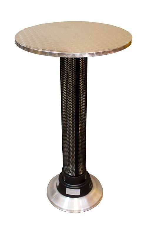 Pub Table with Electric Infrared Heater