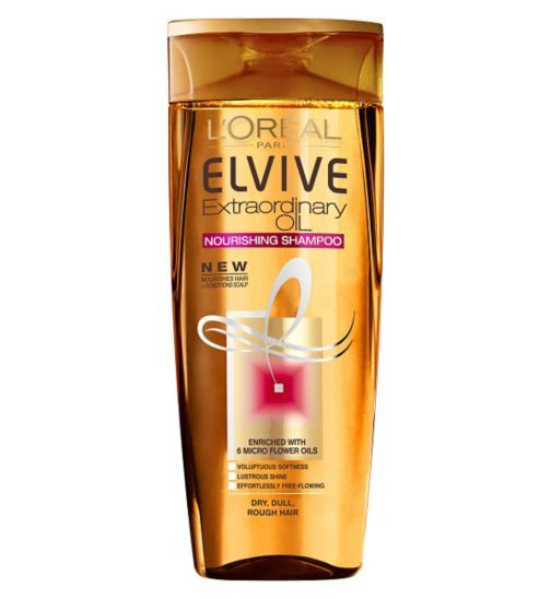 LOreal Elvive Extraordinary Oils Shampoo Dry To Rough Hair 250ml - Boots