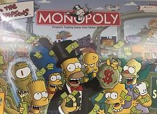 The Simpsons Monopoly Welcome To Springfield  USAopoply Game 2001
