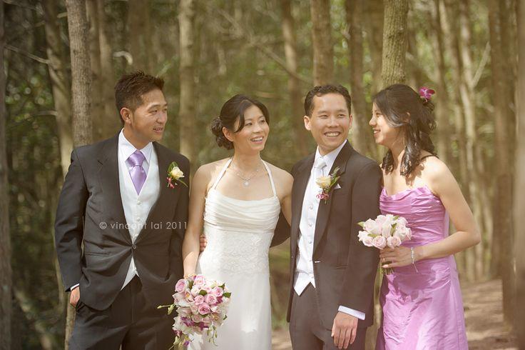 Bicentennial Park Arc Of Pines Wedding Vincent Lai Photography