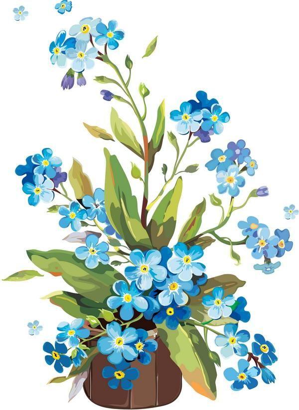 Своими руками, букетик цветов картинки для детей