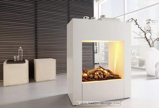 Cheminée électrique / contemporaine / à foyer ouvert / à encastrer CONCEPT nr. 3 EL - M  Kamin-Design GmbH & Co KG Ingolstadt
