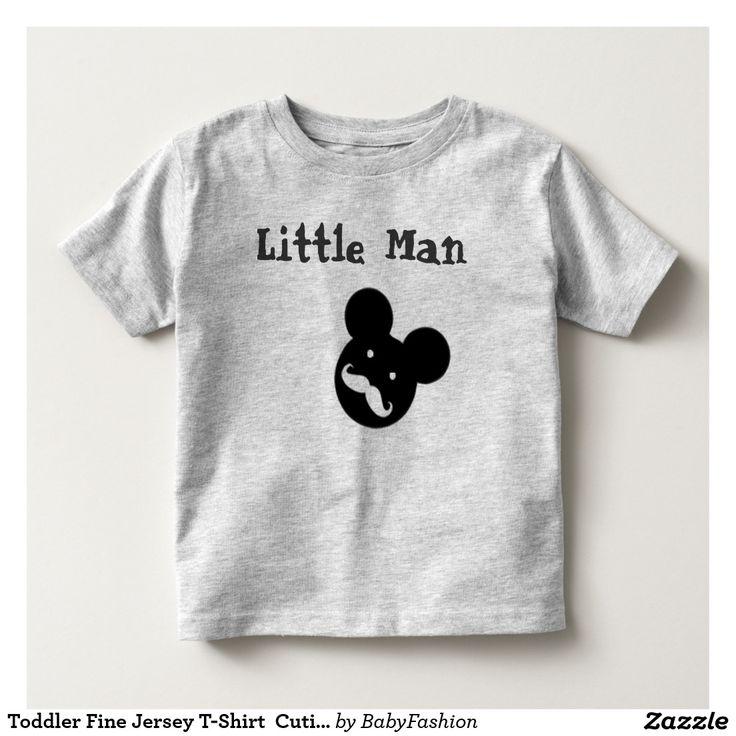Toddler Fine Jersey T-Shirt  Cutie Stach