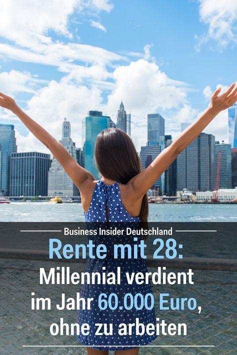 Rente mit 28: Millennial verdient im Jahr 60.000 Euro, ohne zu arbeiten – MamaMoneyProject