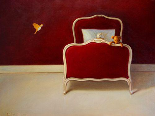 Poster 24x30 Sleep's Silent Gate - Kaj Stenvall posters - Poster size 24x30cm - ArtShop verkkokauppa