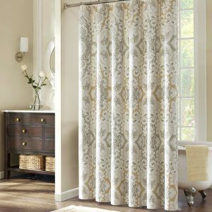Cottage Style Bathroom Shower Curtains