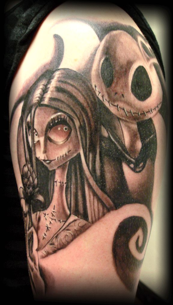 nightmare before christmas tattoos | nightmare-before-christmas-tattoo