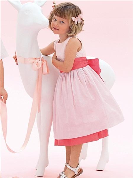 Cette robe-là mais en safran/framboise et framboise/safran