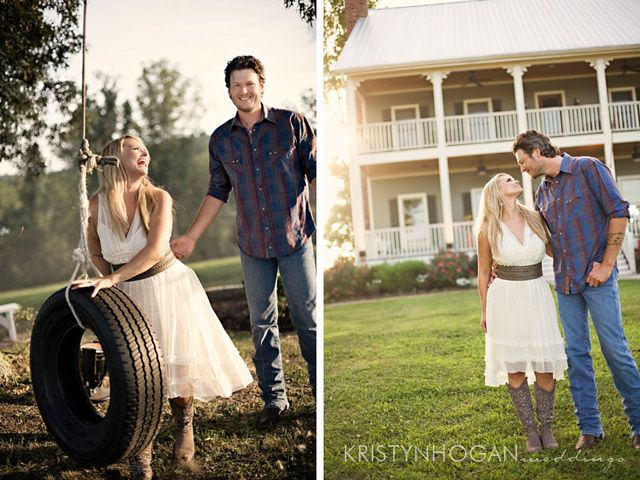 Ahh, Miranda and Blake...my favorite celebrity couple. Getting lots of inspiration from their beautiful wedding!