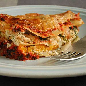 Butternut Squash Lasagna - Healthy Lasagna Recipes - Cooking Light