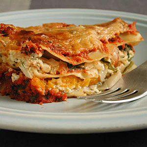 Butternut Squash Lasagna - Healthy Lasagna Recipes - Cooking Light