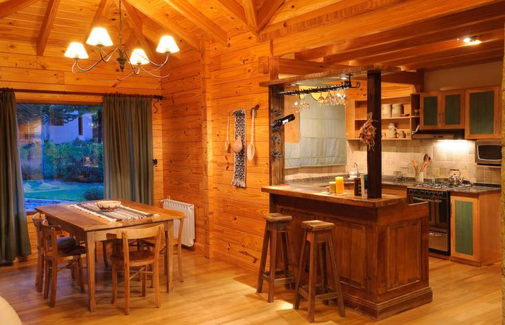 Country style dining room by jroth