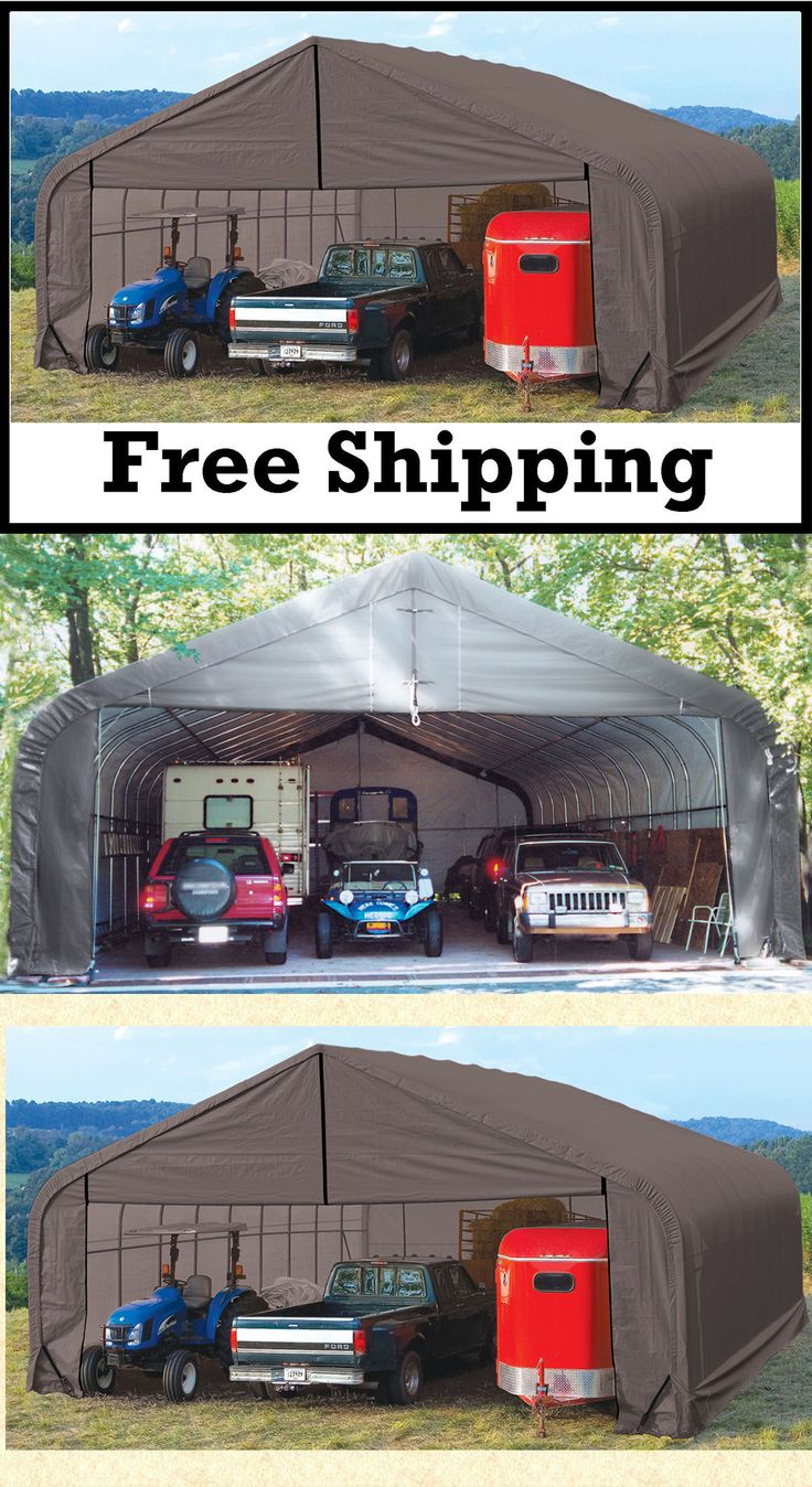 1000 images about garage storage shelter on pinterest 3 for Garage sees automobile