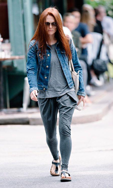 birkenstock fashion | ... keeps it casual in the increasingly popular Birkenstock Gizeh sandals