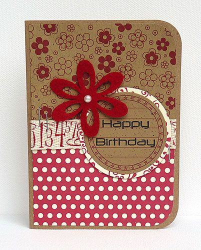 Homemade birthday card dos senoritas y mas - 17 Best Images About Cards On Pinterest Handmade