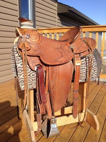 "Bob Kaufman 16.5"" Wade Saddle for Sale - For more information click on the image or see ad # 31569 on www.RanchWorldAds.com"