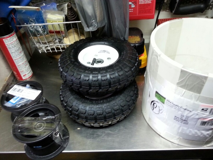 Harbor Freight Wheels 10 Inch Pvc And 4 Quot Azusalite Wheels