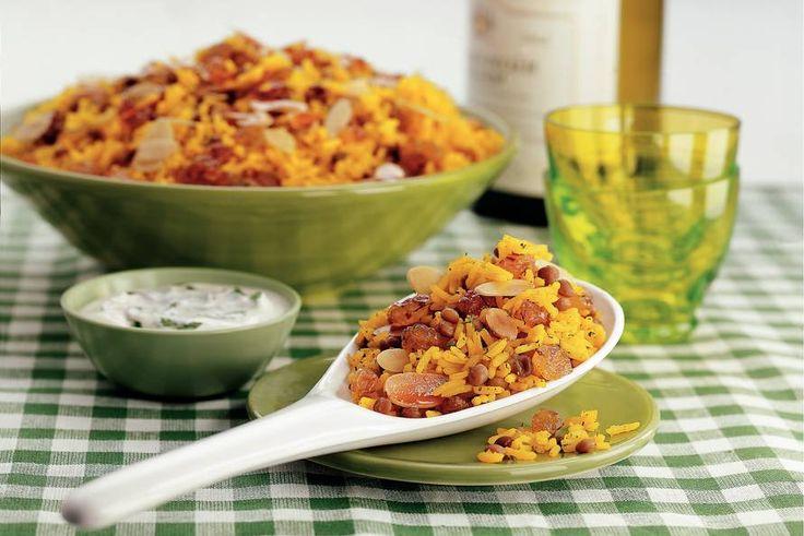 Kijk wat een lekker recept ik heb gevonden op Allerhande! Perzische rijst met linzen