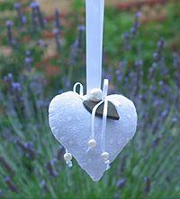 Luxury Lavendel Herz Foto Wohnen u Garten Shop