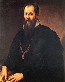"""Giorgio Vasari 1510-1574, Selbstporträt. Vasari was a painter and architect, but more importantly, the first art historian. His """"Lives of the Most Excellent Painters, Sculptors, and Architects """"is still the most frequently referred to ancient volume about art and artists."""