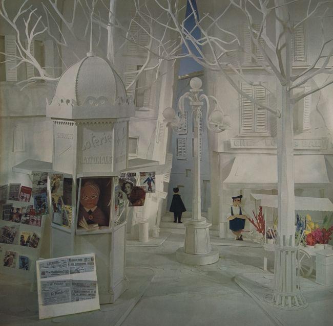 Paris in paper, design Joop Geesink