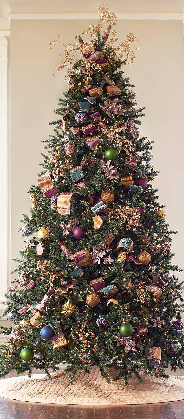 12 Beautiful Christmas Trees   CHRISTMAS   Pinterest   Christmas ...
