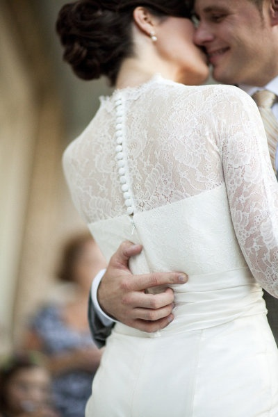 San Patrick wedding gown