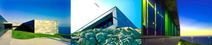 Díaz y díaz. Arquitectura gallega - Fachada de piedra - Pizarra. Integración paisaje. Escuela infantil. A Coruña / Galician architecture. Kindergarten. Stone facade. Landscape integration