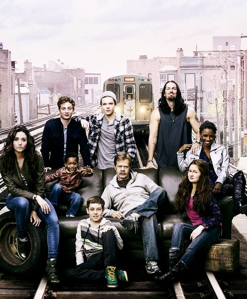 Shameless. Love this show. Set in Chicago. You need to check this out!!!