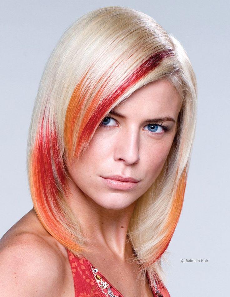 Мелирование волос модных цветов колор фото