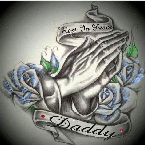 rest in peace daddy xx in loving memory of my dad pinterest peace tattoo and tatting. Black Bedroom Furniture Sets. Home Design Ideas