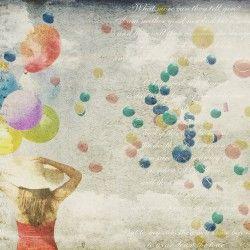 Carta da parati Adriani e Rossi Balloons_1 www.magnicasa.it