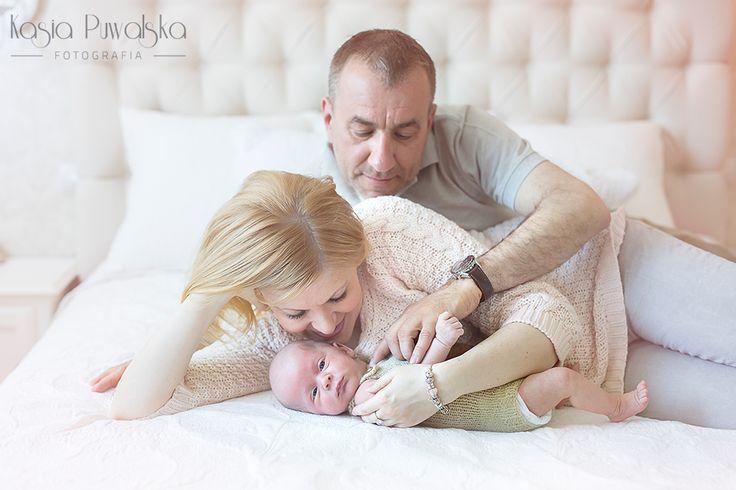 Sesja noworodkowa rodzinna | www.kasiapuwalska.pl