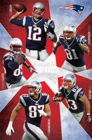 New England Patriots Players   New England Patriots 2012-13 Team Posters at AllPosters.com