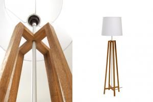 Cross Floor Lamp - Natural | pr home