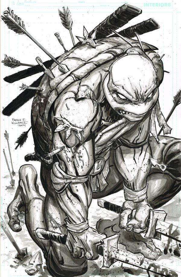 Leonardo TMNT WIP (Finished) by FreddieEWilliamsii.deviantart.com on @deviantART
