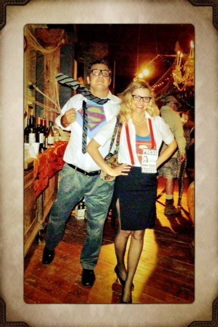 DIY Lois Lane and Clark Kent   Vintage Renewal