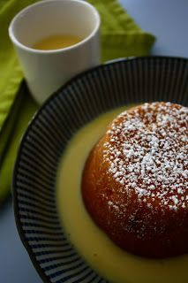 Pear Ginger and White Chocolate Cake is delicious warm with custard.