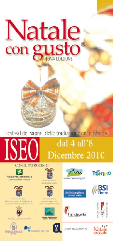 Natale con gusto a Iseo  http://www.panesalamina.com/2010/287-natale-con-gusto-a-iseo.html