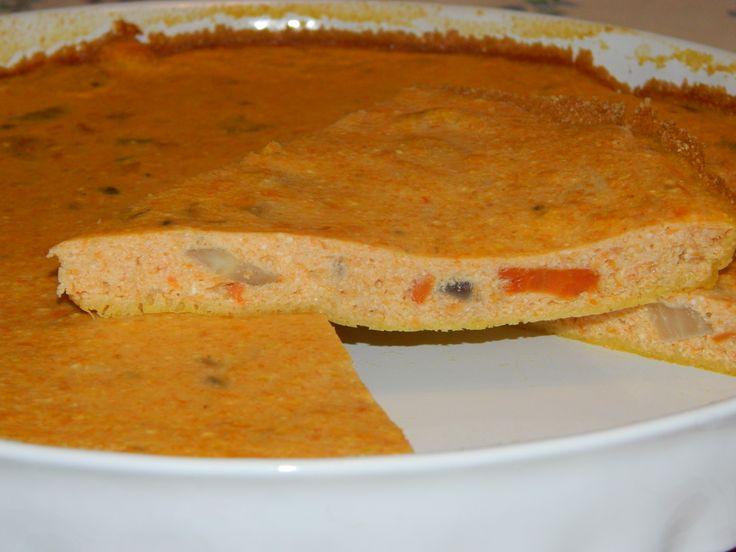 Frittata al forno con carote e finocchi