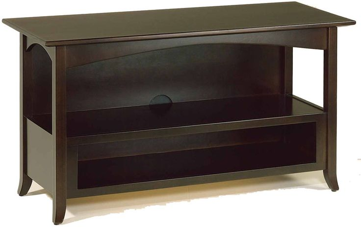 Amish 49 Hesston Shaker TV Stand No Drawers The Perfect Host For Time
