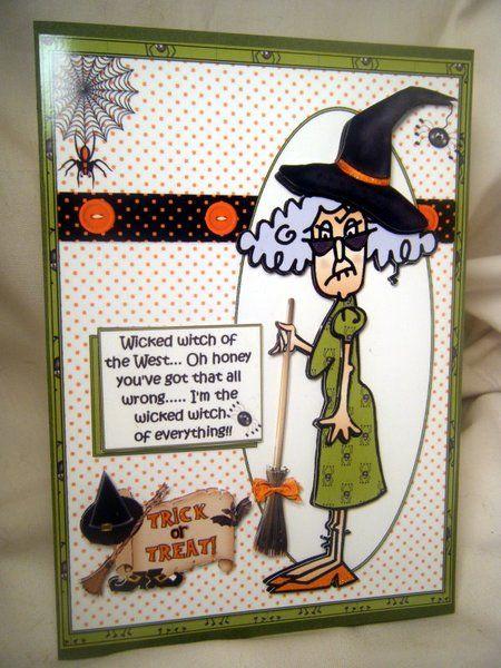 handmade greeting halloween stella is at it again for halloween - Handmade Halloween Cards Pinterest