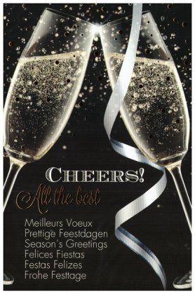 Meilleurs Voeux Prettige Feestdagen Season's Greetings Felices Fiestas Festas Felizes Frohe Festtage
